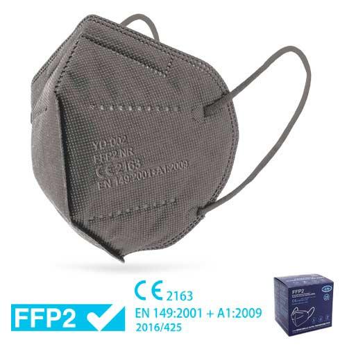 Mascareta FFP2 amb Certificat CE GRIS