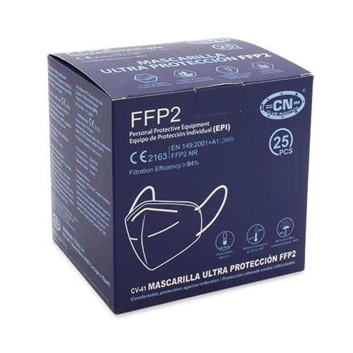 CAIXA Mascareta FFP2 amb Certificat CE