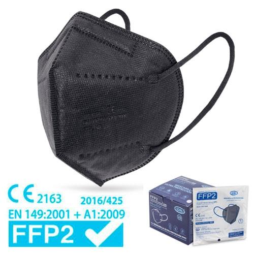 Mascareta FFP2 amb Certificat CE NEGRA