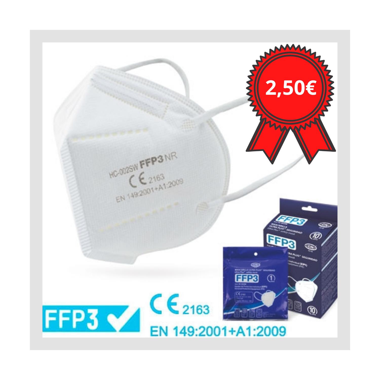 Mascareta ultra PLUS protecció FFP3 Andorra