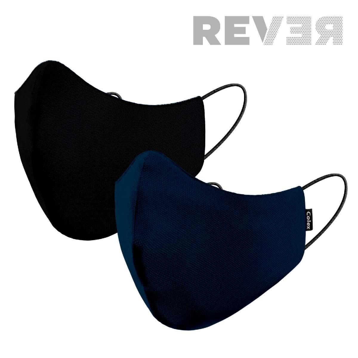 Mascareta Rever Color negre i blau marí